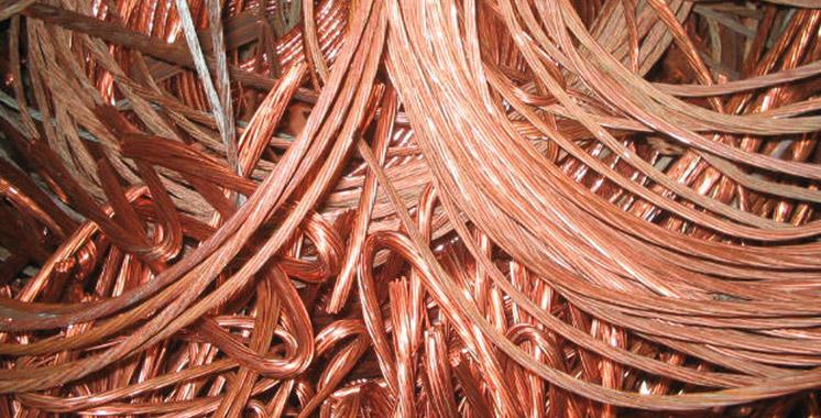 Kénitra : Démantèlement d'une bande de malfaiteurs spécialisée dans le vol des fils et câbles en cuivre