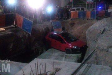 Casablanca : Un taxi dans une fosse après une course contre des agresseurs
