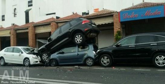 Accidents de la circulation : 27 morts et 2.000 blessés en une semaine