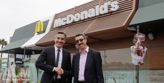 McDonald's sur les autoroutes marocaines