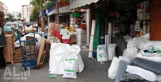 Sacs plastique : plus de 36 tonnes saisies en 2017