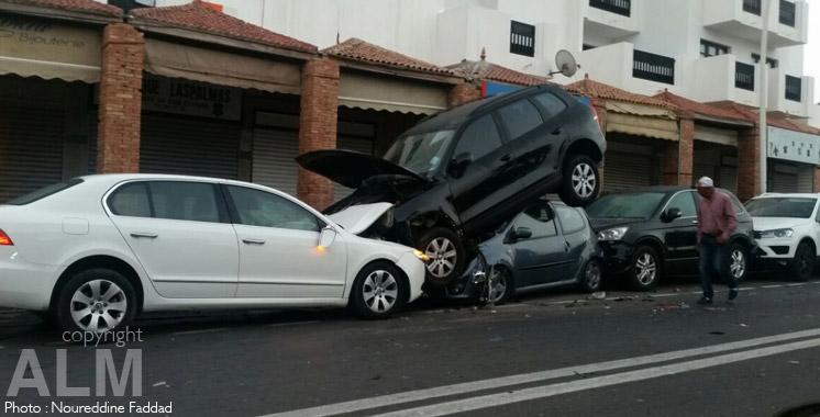 Accidents de la circulation: 15 morts et 1.294 blessés en une semaine dernière