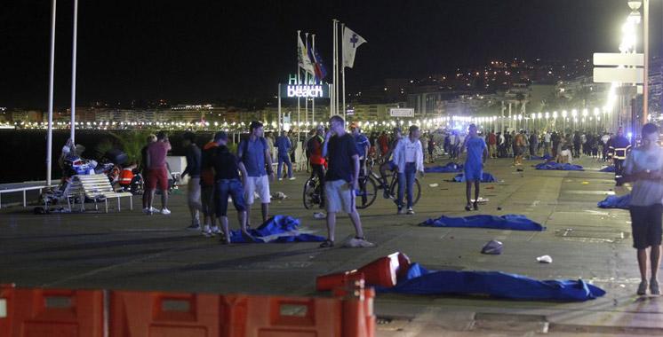 Nice : Le bilan des victimes s'alourdit à 84 morts et 18 personnes en «urgence absolue»