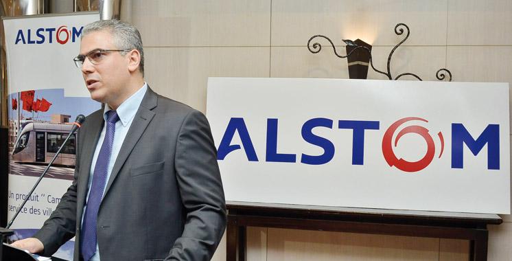 Alstom partage sa stratégie d'achats à Casablanca