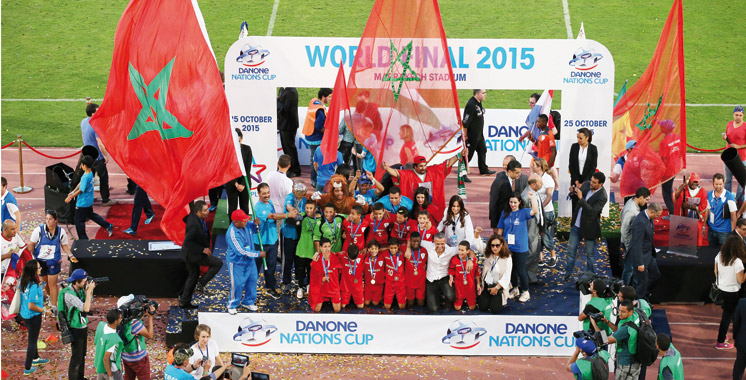 Finale de la Danone Nations Cup : L'équipe Atlas représentera  le Maroc à Paris