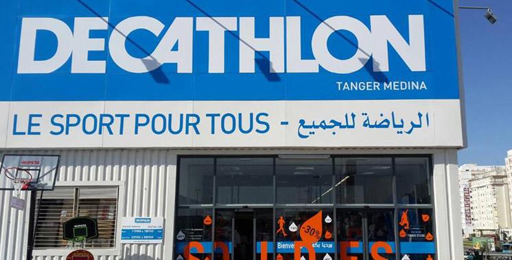 Decathlon ouvre son premier magasin à Rabat