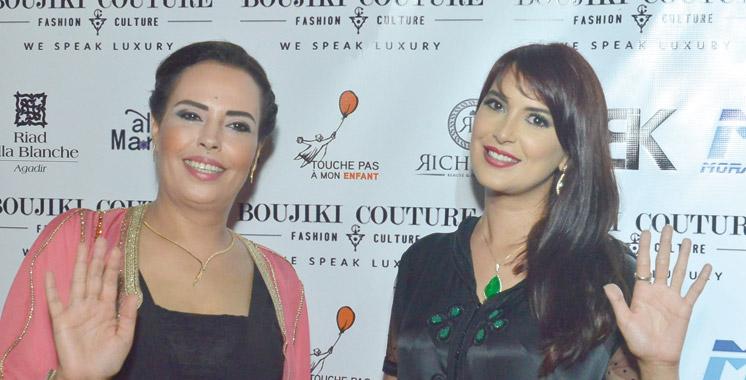 Défilé: Boujiki Couture soutient l'association «Touche pas à mon enfant»