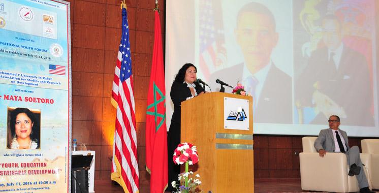 La sœur de Barack Obama au Maroc: Le plaidoyer du Dr Soetoro-Ng