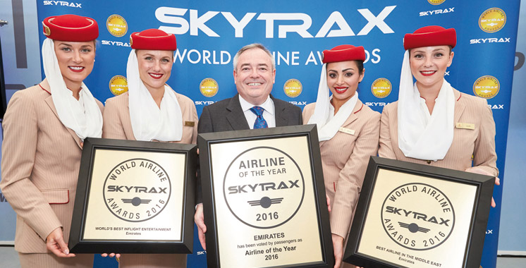 Emirates sacrée meilleure compagnie aérienne au monde