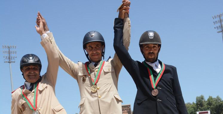 Clôture de la Semaine du cheval: Hassani domine le Dressage A,  Boubouh brille chez les militaires