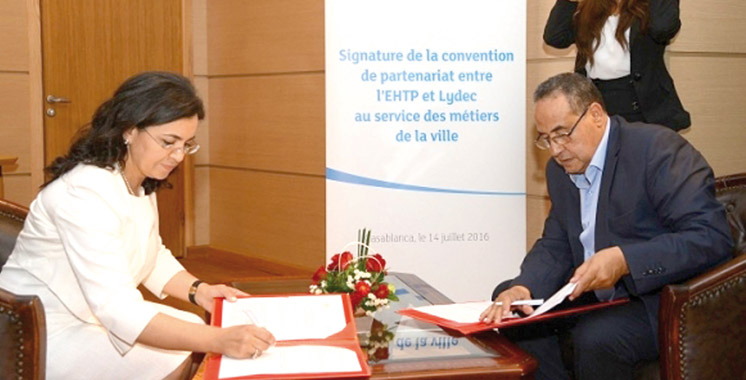 Développement durable: La Lydec s'associe à l'EHTP