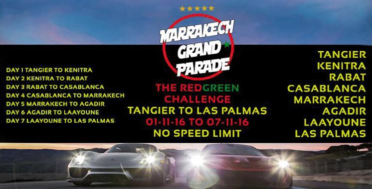 Le Marrakech Grand Parade: Un road trip de luxe à but caritatif