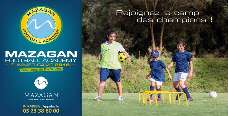Mazagan Football Academy ouvre ses portes  pour un été footballistique