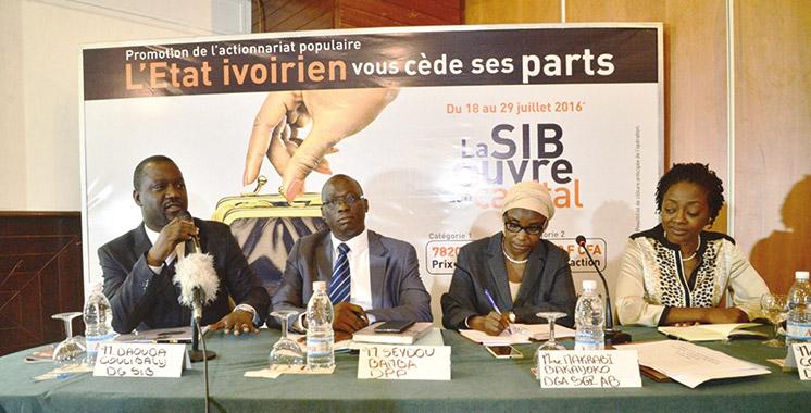 La Côte d'Ivoire cède 20% de ses actions  dans le capital de la SIB d'Attijariwafa bank