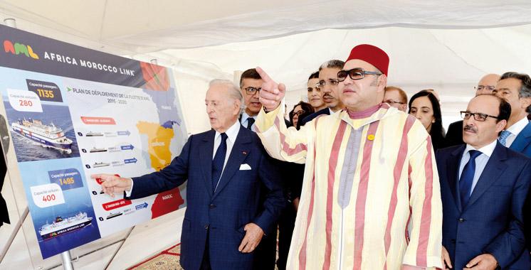Une œuvre de BMCE Bank of Africa: Le pavillon national  maritime du Royaume ressuscité à Tanger Med