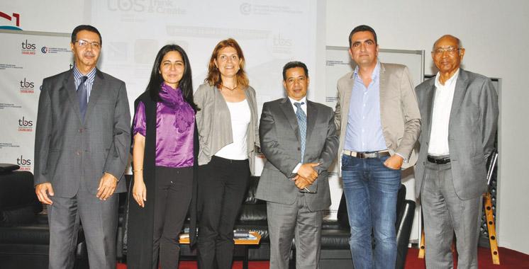 TBS Casablanca clôture son cycle  de conférences par la propriété  intellectuelle