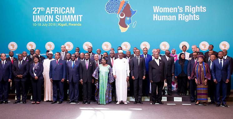 Afrique : 28 pays de l'union veulent suspendre la rasd