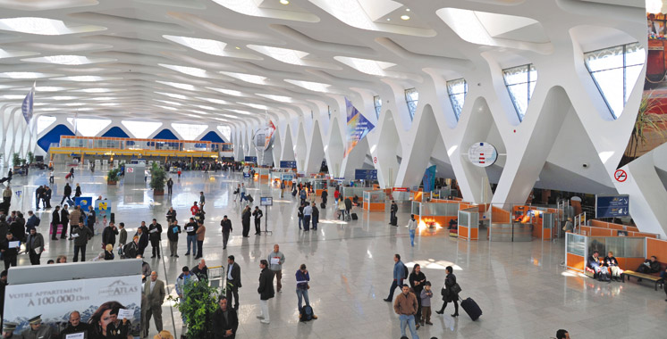 Timide évolution du trafic aérien au 1er semestre : Plus de 8 millions de passagers  aux aéroports du Maroc