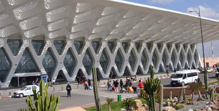 Aéroport de Marrakech: Le trafic en baisse de 7,12% à fin juin
