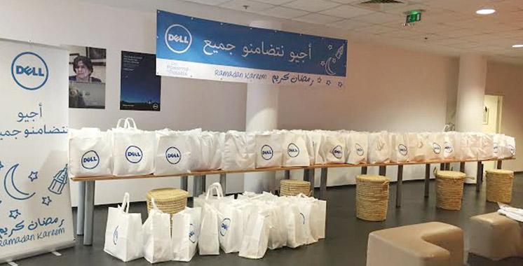 Dell fait don de 276 colis pour des familles dans le besoin