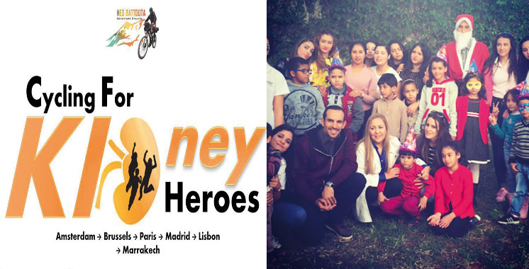 Cycling for KIDney Heroes: Le voyage de l'espoir pour des enfants aux reins solides