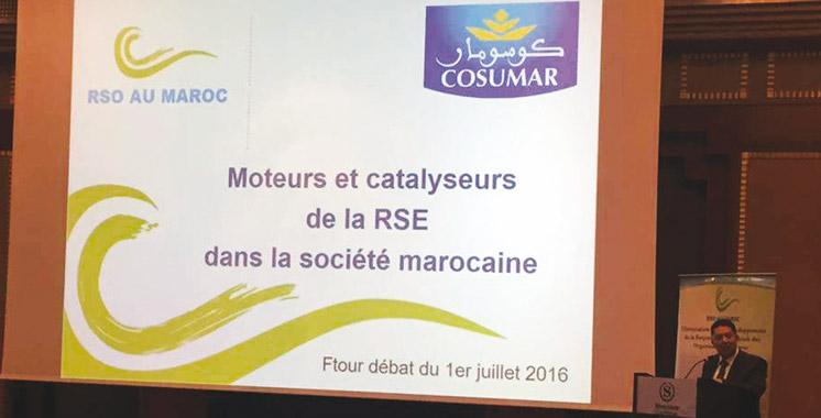 Initié par RSO Maroc: Débat autour des moteurs et catalyseurs  de la RSE dans la société marocaine