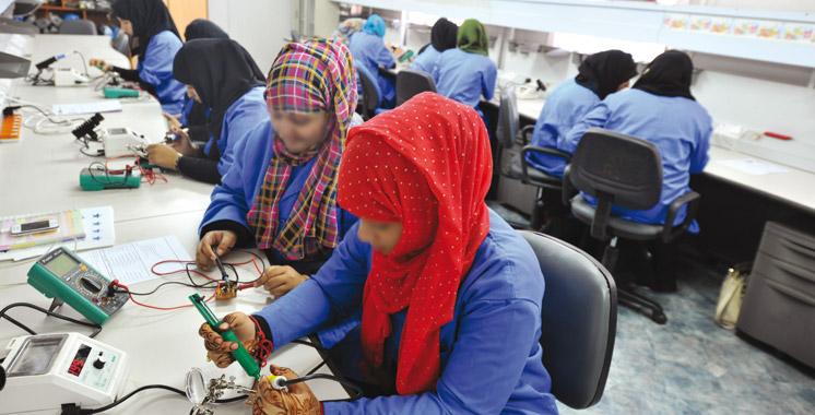 Formation professionnelle à Laâyoune: 10.755 stagiaires formés à l'horizon 2021