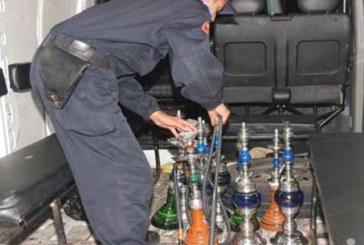 Tanger : Descentes policières  sur des cafés servant la chicha