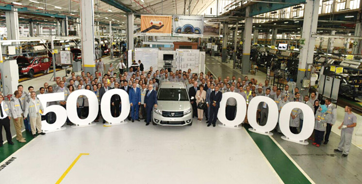 La Somaca a célébré son 500.000ème véhicule