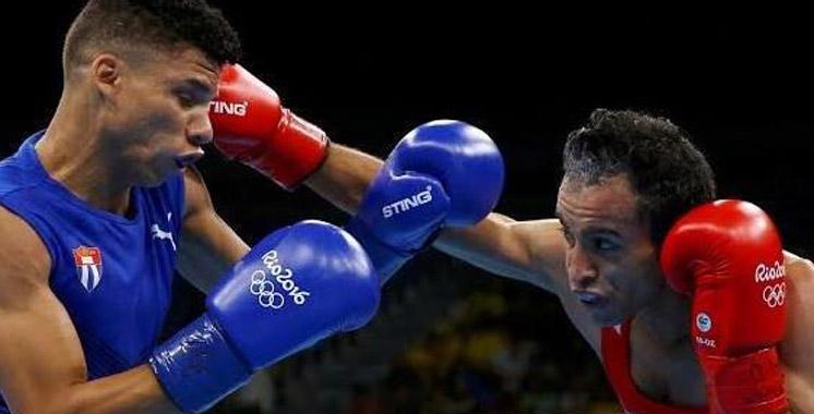 JO-2016/Boxe: Kharroubi éliminé aux huitièmes de finale