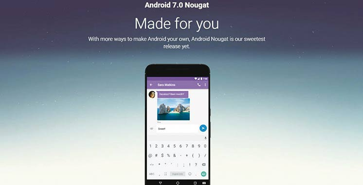 Google déploie un nouvel Android
