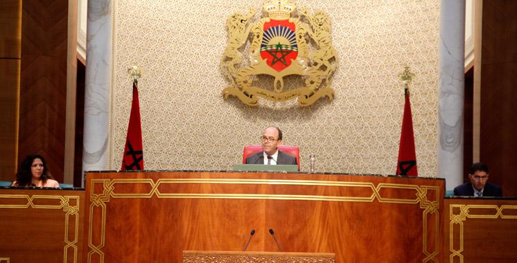 Chambre des conseillers: Un record de 87 textes de loi adopté durant la session d'avril