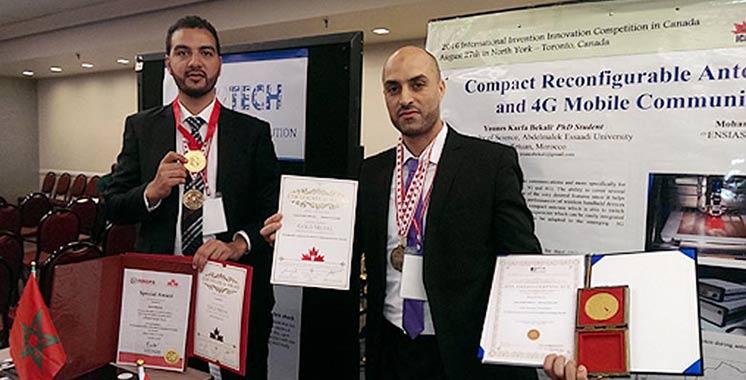 Concours international de l'invention et de l'innovation : huit médaillés d'or Marocains