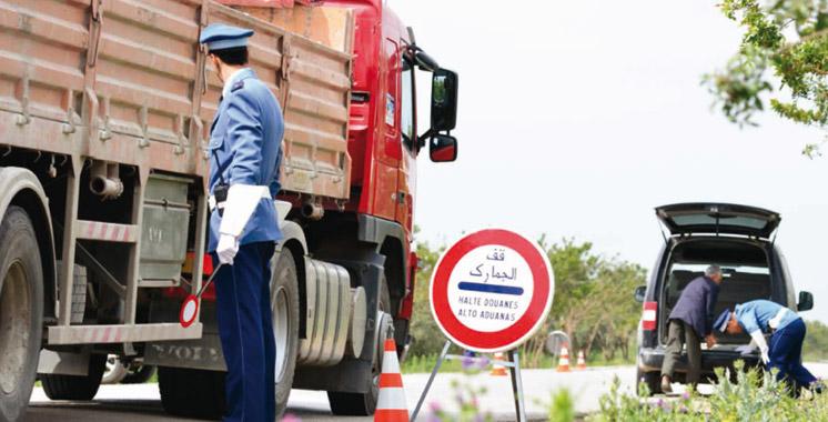 Agadir: Saisie d'un lot de marchandises de contrebande