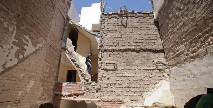 Rabat : Une blessée dans l'effondrement d'une maison