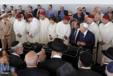 En images : les obsèques de Boris Toledano à Casablanca
