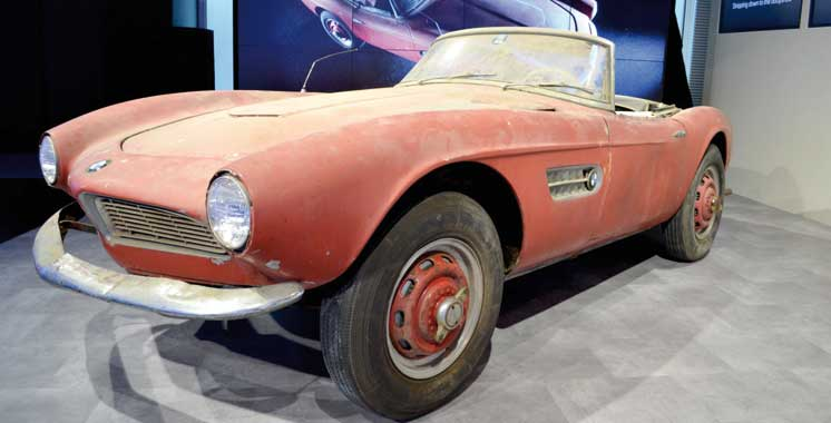 BMW restaure la Pretty Car  d'Elvis Presley