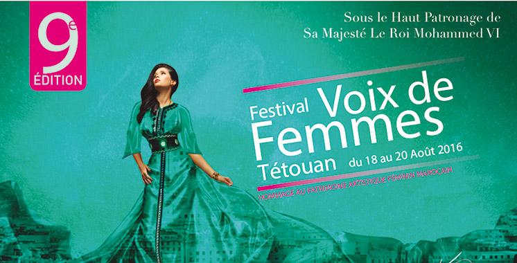 Festival Voix de Femmes de Tétouan: La 9ème édition fait la part belle aux voix marocaines