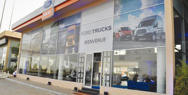 Inaugurée en juillet: Ford Trucks ouvre une nouvelle plate-forme  commerciale de 50.000 m2 à Marrakech