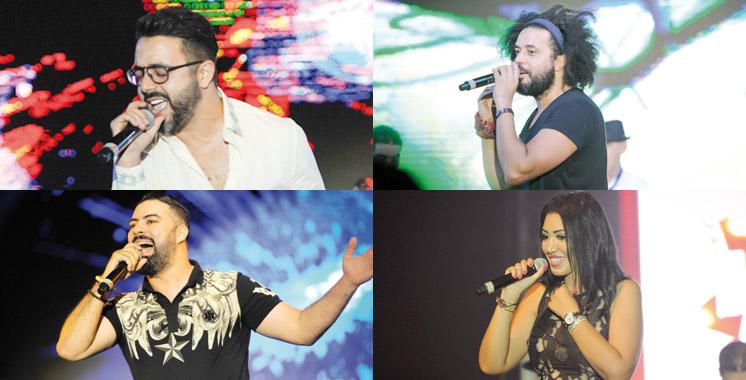 «Hits of Arabia from Morocco» à Casablanca: Mohamed Reda, Asma Lmnawar et Abdelfattah Grini ont enchanté le public