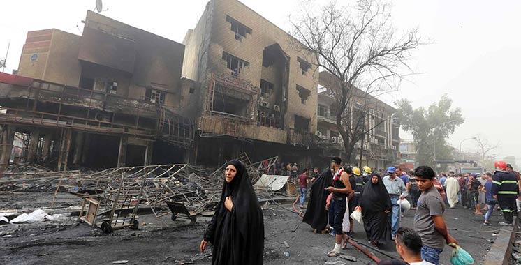 Irak: 18 morts dans un attentat-suicide près de Bagdad