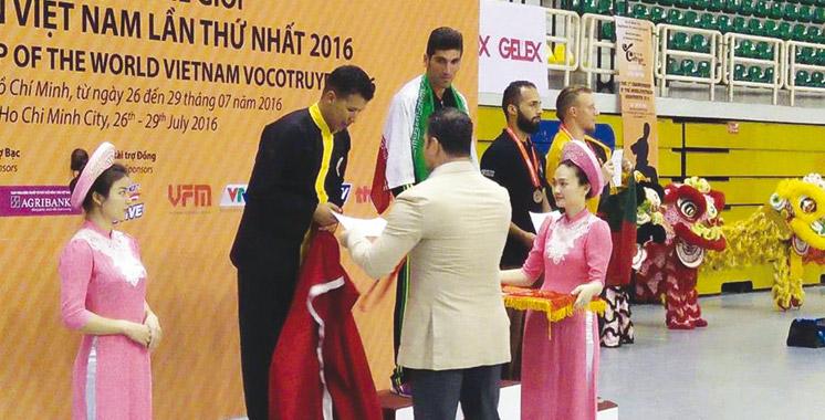 Arts martiaux : Un collaborateur de l'OCP s'illustre  en Vietnam