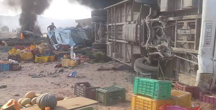 Tunisie: 16 morts et 80 blessés dans un accident de la route