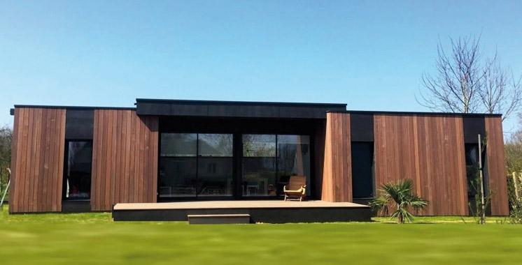 le nouveau concept des maisons en kit bient t des maisons en bois aujourd 39 hui le maroc. Black Bedroom Furniture Sets. Home Design Ideas
