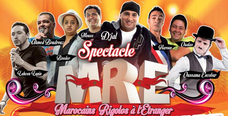 Les Marocains rigolos à  l'étranger Une nouvelle tournée prévue