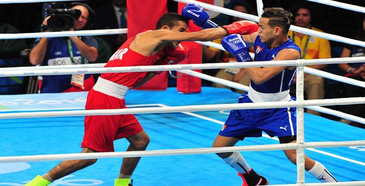 JO-2016/Boxe: Hamout éliminé aux 8è de finale