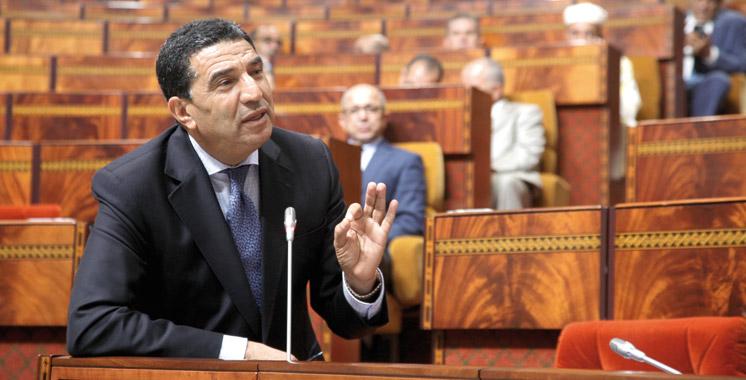 Mohamed Moubdii ,ministre délégué auprès du chef de gouvernement chargé de la fonction publique et de la modernisation de l'administration.