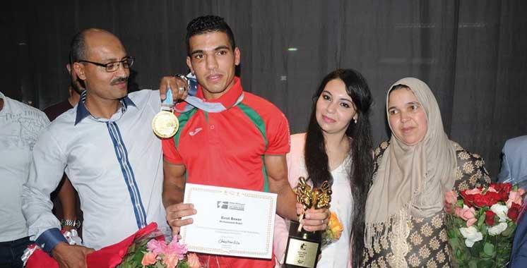Détenteur de l'unique médaille marocaine  à Rio 2016: Mohamed Rabii accueilli en héros  à Casablanca