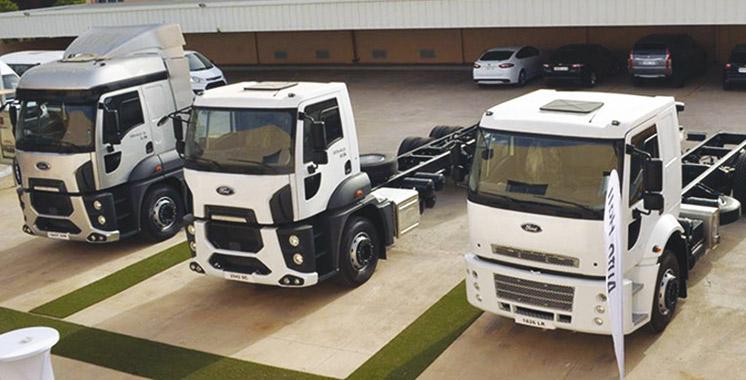 inaugur e en juillet ford trucks ouvre une nouvelle plate forme commerciale de m2. Black Bedroom Furniture Sets. Home Design Ideas