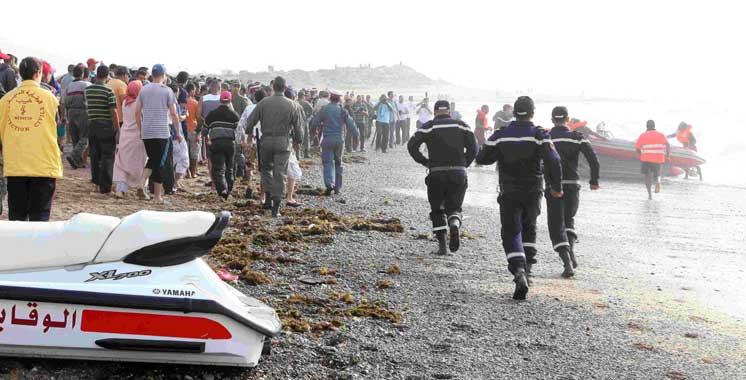 M'diq-Fnideq : 1.404 personnes sauvées de la noyade depuis le début d'été